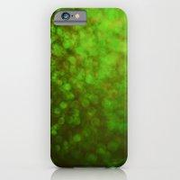 Big Green Bokeh iPhone 6 Slim Case