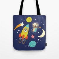 Space Critters Tote Bag