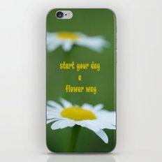 A Flower Way iPhone & iPod Skin