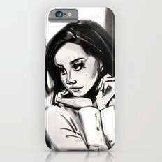 woman in black and white iPhone 6 Slim Case