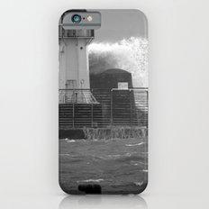 Ardrossan Lighthouse Versus the Sea iPhone 6 Slim Case