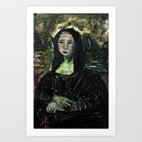MONA LEE Art Print