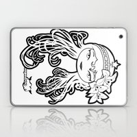 Lybee Black & White Laptop & iPad Skin