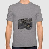 Take A Picture ! Mens Fitted Tee Athletic Grey SMALL