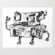 AERNI-BOT  Art Print