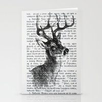Irish Deer Stationery Cards