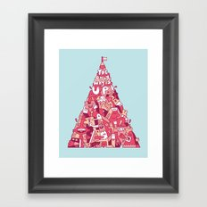 The Only Way Is Up! Framed Art Print