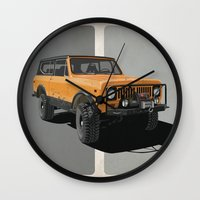 International Scout Wall Clock