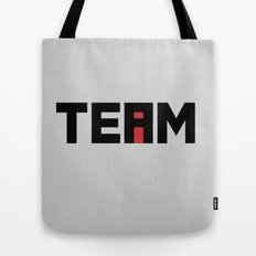 The i in TEAM Tote Bag