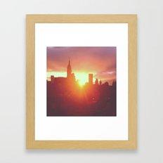 6:30am, New York Framed Art Print