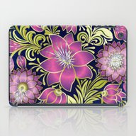 Shabby Flowers #1 iPad Case