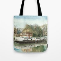 Rosa On The Grand Union … Tote Bag