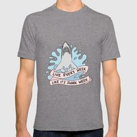 Live Every Week Like It'… Mens Fitted Tee Tri-Grey SMALL