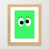 I is Drunk Framed Art Print