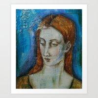 Isabelle Portrait Art Print