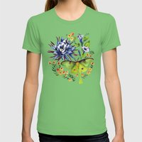 Evening Womens Fitted Tee Grass SMALL