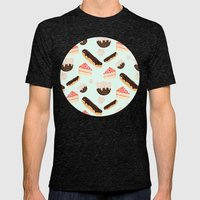 Sweet Things Mens Fitted Tee Tri-Black SMALL