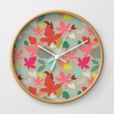 spring and fall Wall Clock