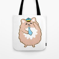 Animal Police - Pomeranian Tote Bag