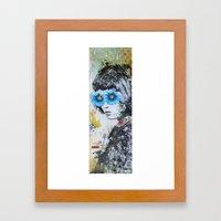 Los Arboles De Fantasia … Framed Art Print