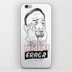 enjoy human error iPhone & iPod Skin