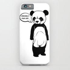 Angry Panda iPhone 6 Slim Case