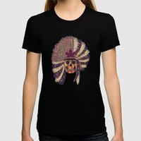 WARPAINT 114 Womens Fitted Tee Black SMALL