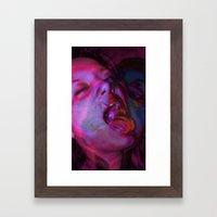 La Chica Loca Framed Art Print