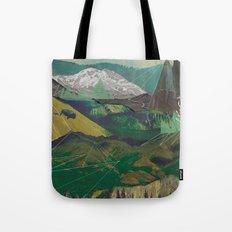 Buffalo Mountains Tote Bag