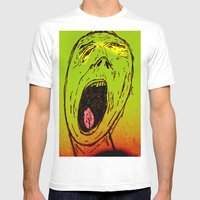 Marley Mens Fitted Tee White SMALL