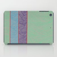 3 Red Lines  iPad Case