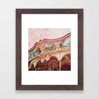 I Heart my Carousel Framed Art Print