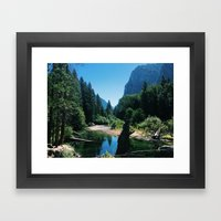 Zumwalt Meadow Trail Framed Art Print