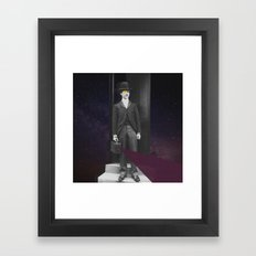 So Is This The Right Door Framed Art Print