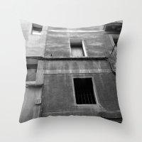 window 13 Throw Pillow