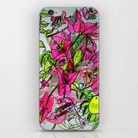 Bougainvillea 2 iPhone & iPod Skin