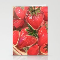 Fraises. Stationery Cards