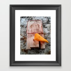 Human Trap Framed Art Print