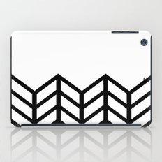 BLACK & WHITE LACE CHEVRON iPad Case