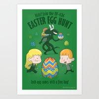 A Xenomorph Easter Speci… Art Print