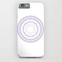 iPhone & iPod Case featuring Anime Magic Circle by Burve