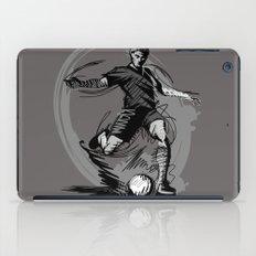 Playing Football iPad Case