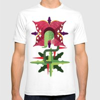 Quadro Baba Mens Fitted Tee White SMALL