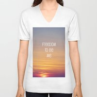 Freedom to be me Unisex V-Neck