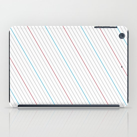 Simple Lines iPad Case