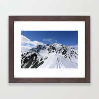 Mount Marathon Framed Art Print