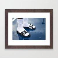 SLIDES. Framed Art Print