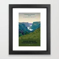 Gros Morne Framed Art Print