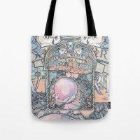 Wizard print Tote Bag