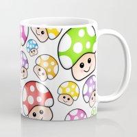 Iddy Diddy Mushrooms  Mug
